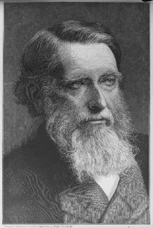 John Ruskin, by and after Elliott & Fry - NPG x81996