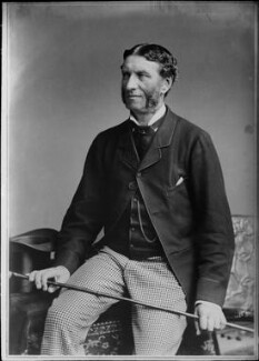Matthew Arnold, by Elliott & Fry, circa 1883 - NPG x82000 - © National Portrait Gallery, London