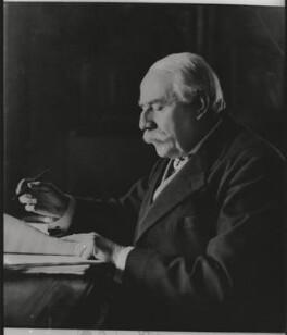 Sir Edward Elgar, Bt, by Herbert Lambert, for  Elliott & Fry - NPG x82022