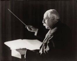 Sir Edward Elgar, Bt, by Herbert Lambert, for  Elliott & Fry - NPG x82023
