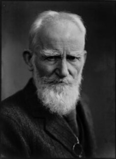 George Bernard Shaw, by William Flower, for  Elliott & Fry - NPG x82072