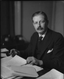Harold Macmillan, 1st Earl of Stockton, by Elliott & Fry, April 1942 - NPG x82084 - © National Portrait Gallery, London