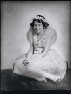 Queen Elizabeth II, by Elliott & Fry - NPG x82086