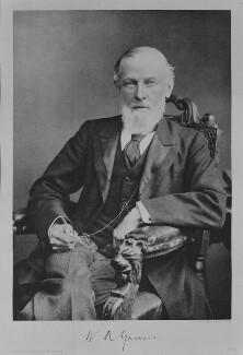 Sir William Richard Gowers, by Elliott & Fry - NPG x82111