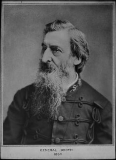 William Booth, by and after Elliott & Fry - NPG x82272