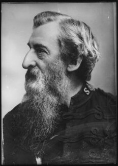 William Booth, by Elliott & Fry, 1884 - NPG x82273 - © National Portrait Gallery, London