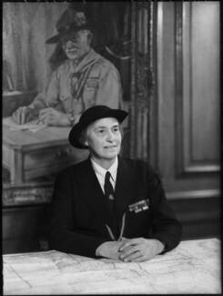 Olave St Clair Baden-Powell (née Soames), Lady Baden-Powell, by Elliott & Fry - NPG x82316