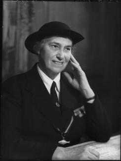 Olave St Clair Baden-Powell (née Soames), Lady Baden-Powell, by Elliott & Fry - NPG x82317