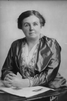 Dame Margaret Lloyd George (née Owen), copy by Elliott & Fry - NPG x82383