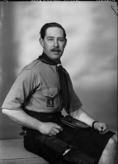 Charles Ian Finch-Knightley, 11th Earl Aylesford, by Elliott & Fry - NPG x82400