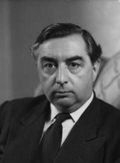 George Alfred Brown, Baron George-Brown, by Elliott & Fry - NPG x82415