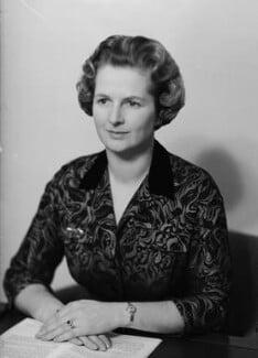 Margaret Thatcher, by Elliott & Fry - NPG x82667