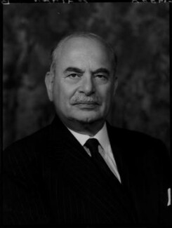 Harry Louis Nathan, 1st Baron Nathan, by Elliott & Fry, 2 October 1957 - NPG x82936 - © National Portrait Gallery, London