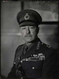 Harold Rupert Leofric George Alexander, 1st Earl Alexander of Tunis, by Elliott & Fry - NPG x86137