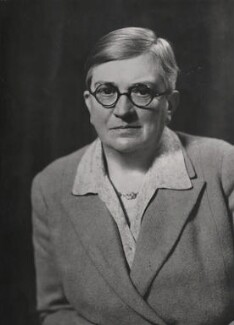 Dame Lilian Charlotte Barker, by Elliott & Fry - NPG x86276