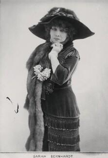 Sarah Bernhardt, by Elliott & Fry, 1901 - NPG x86349 - © National Portrait Gallery, London