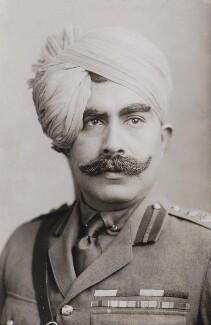Maharaja Shri Sir Ganga Singh Bahadur, Maharaja of Bikaner, by Elliott & Fry,  - NPG x86360 - © National Portrait Gallery, London