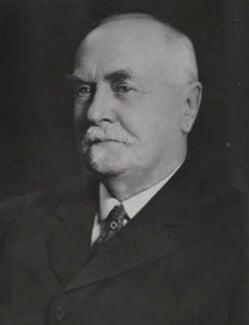 Sir Reginald Theodore Blomfield, by Elliott & Fry - NPG x86388