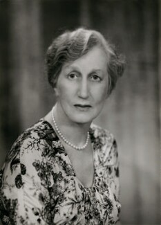(Helen) Violet Bonham Carter (née Asquith), Baroness Asquith of Yarnbury, by Elliott & Fry,  - NPG x86412 - © National Portrait Gallery, London