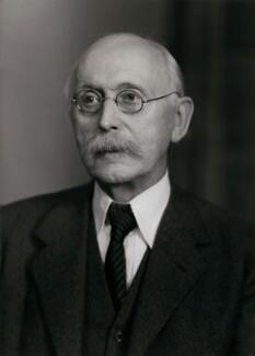 Sir Arthur Lyon Bowley, by Elliott & Fry - NPG x86434