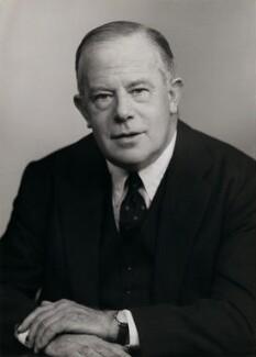 Sir Maurice Bowra, by Elliott & Fry - NPG x86436