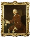 This handsome rococo frame with its bold swep…