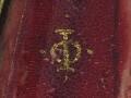 Isaac Oliver's monogram.