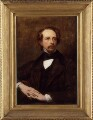 Dickens sat to the Dutch-born painter, Ary Sc…