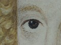 Detail of the right eye.