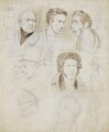 Members of the House of Lords, attributed to (Isaac) Robert Cruikshank - NPG 2789