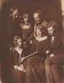 The Adamson Family, by David Octavius Hill, and  Robert Adamson - NPG P6(153)
