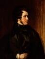 William Harrison Ainsworth, by Daniel Maclise - NPG 3655