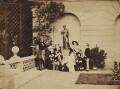 The Royal Family on the terrace of Osborne House, by Leonida Caldesi - NPG P26
