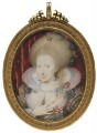 Anne of Denmark, by Isaac Oliver - NPG 4010