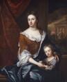 Queen Anne; William, Duke of Gloucester, studio of Sir Godfrey Kneller, Bt - NPG 5227
