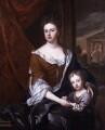 Queen Anne; William, Duke of Gloucester, after Sir Godfrey Kneller, Bt - NPG 325