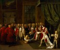 Queen Anne and the Knights of the Garter, by Peter Angelis - NPG 624