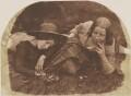 Mary McCandlish; Margaret Arkley (née McCandlish), by David Octavius Hill, and  Robert Adamson - NPG P6(177)