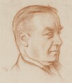 Stanley Baldwin, 1st Earl Baldwin, by Sir William Rothenstein - NPG 3866