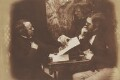 A Discussion, by David Octavius Hill, and  Robert Adamson - NPG P6(143)
