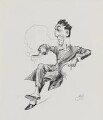 George Pleydell Bancroft, by Harry Furniss - NPG 3418