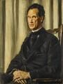 Sir Herbert Atkinson Barker, by Augustus Edwin John - NPG 4189