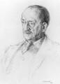 J.M. Barrie, by Sir Walter Thomas Monnington - NPG 3539