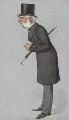 Sir Thomas Bazley, 1st Bt, by Carlo Pellegrini - NPG 2566