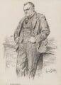 Hilaire Belloc, by Sir (John) Bernard Partridge - NPG 3664