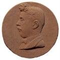 Arnold Bennett, by Theodore Spicer-Simson - NPG 2043