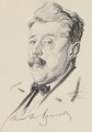 Arnold Bennett, by Walter Tittle - NPG 2664