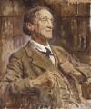 Sir Francis Robert ('Frank') Benson, by Reginald Grenville Eves - NPG 3777