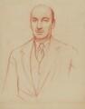 Gerald Tyrwhitt-Wilson, 14th Baron Berners, by Sir William Rothenstein - NPG 4380