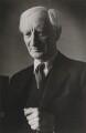 William Henry Beveridge, 1st Baron Beveridge, by Felix H. Man (Hans Baumann) - NPG P11